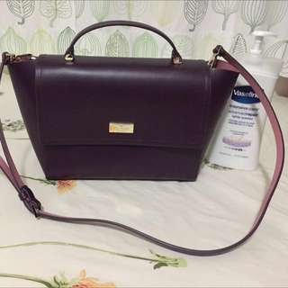 Kate spade ♠️ purple handbag