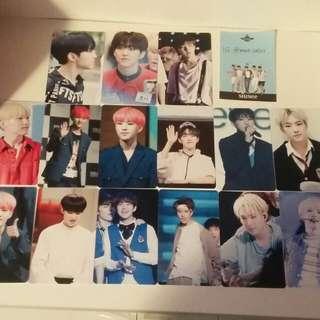 Hoshi Seventeen photocards kpop
