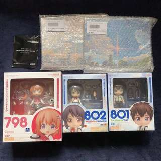 (GSC Bonus) Nendoroids - Is the Order a Rabbit: Cocoa: Your Name: Taki & Mitsuha