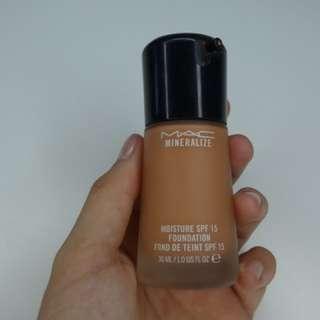 Mac mineralized foundation