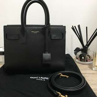 Saint Laurent Mini Sac De Jour
