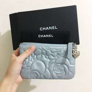 👑Chanel Camellia Coin Purse