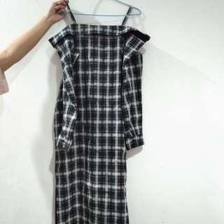 Pomelo Black white dress