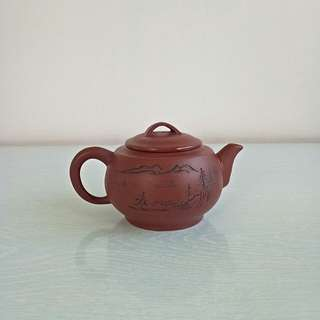 Old Zisha Teapot height 7cm diameter 5.5cm mint condition unused