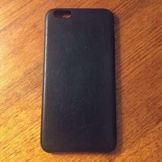 iPhone 7 Plus Apple Black Leather Phone Case