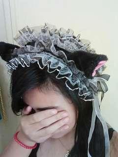 😻 Cosplay Cat Neko Maid Headband 😻