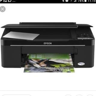 Epson Printer used $40 scan copy and print