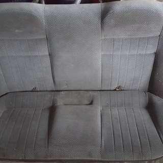 Wira back seat