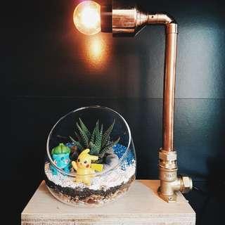Copperlamp Terrarium