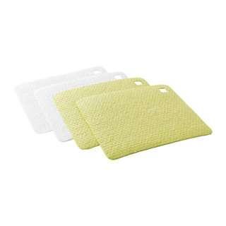 IKEA PLUSSIG Dish-cloth, green, white, 20x17 cm