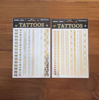 Party Tattoos! Suitable for Birthdays, Hens Night/ Bachelorette