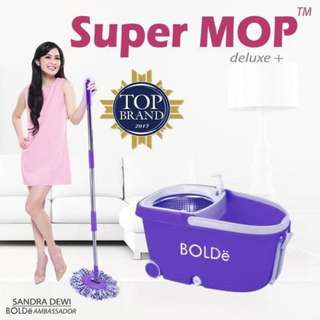 Supermop Deluxe+ Bolde Alat Pembersih Lantai