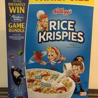 美國品牌早餐脆脆米粒