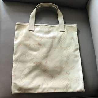 agnis b 米色手挽袋 - 購自日本