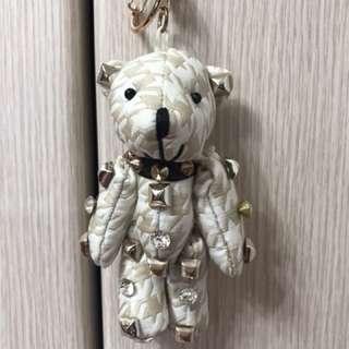 卯釘熊吊飾