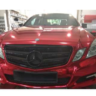 RED CHROME WRAP - STICKER WRAP - SILENT WRAP