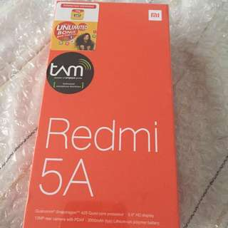 Redmi 5a dark grey new