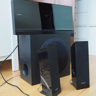 SONY DVD PLAYER + AMPLIFIER DAV-F310
