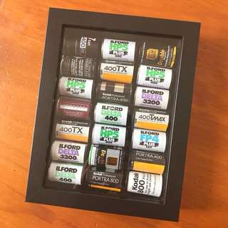 Framed Film Canisters