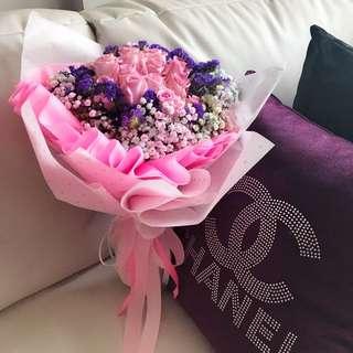Fresh Flower Bouquet for Valentines Day