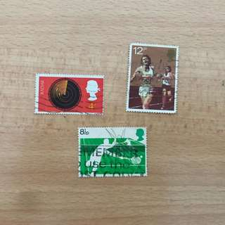 UK Stamps | Sports series