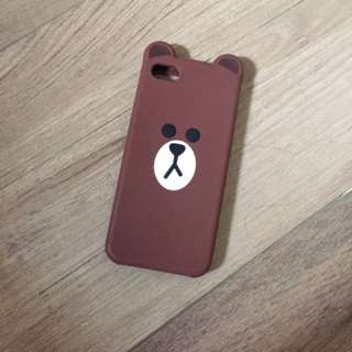 iphone 5 case 🔥LINE BROWN🔥