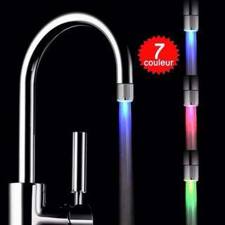 Korean Neon LED Multicolor Lights Glow in the Dark Water Faucet