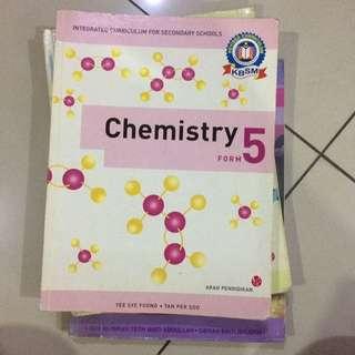 F5 Chemistry textbook!