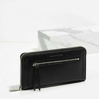 CK Front Zip Wallet Original