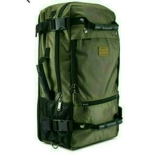 #MILITARY GREEN TRAVEL BACKPACK BRAND NEW