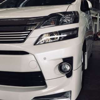 RECOND LIKE NEW TOYOTA VELLFIRE GOLDEN EYES 2.4(A)