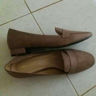 Gioretti Woman Shoes Khaki Color
