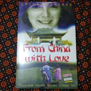 "Novel EMILY BUCHANAN ""From China with Love"""