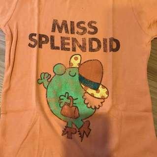 Miss splendid orange size S