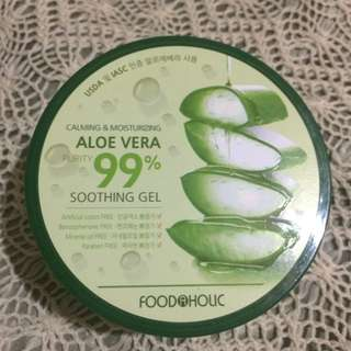 ALOE VERA 99% SOOTHING GEL (100% Brand New from Korea)
