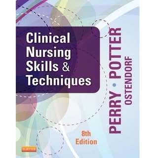 Clinical Nursing Skills & Techniques, 8th edition