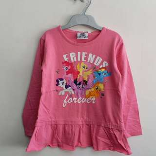 Girls 100% cotton knitted top