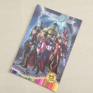 $1.2+ Avengers Colouring Book