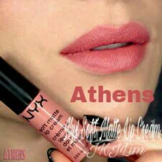 Nyx Soft Matte Lip Cream - Athens