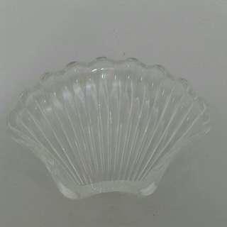 玻璃貝殼煙灰缸