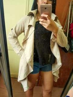 ❤️Prelove❤️ 2 Way Sleeve Trench Coat
