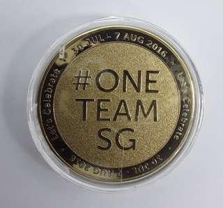 Coin SG50 One Team