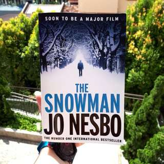 The Snowman Jo Nesbo English Novel Book