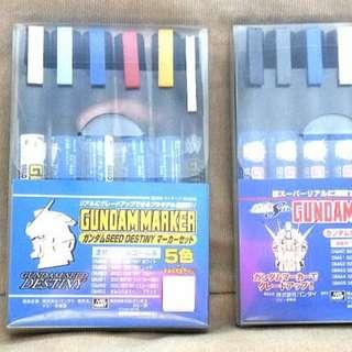Gundam Authentic Marker Set