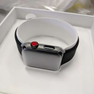 Apple watch series 3 space black stainless 42mm