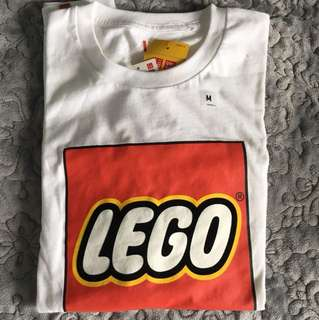 Uniqlo x Lego 白色短袖T恤 tee