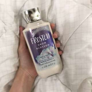 [included postage] Bath & Body Works lotion
