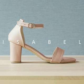Sepatu Wanita Heels Platform Polish HMY04BK & CR