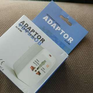 全球多用途Adaptor 旅行萬用插頭100%New