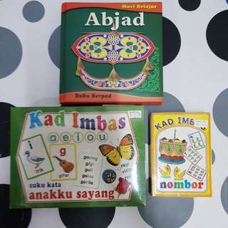 Malay children's book & Flash cards